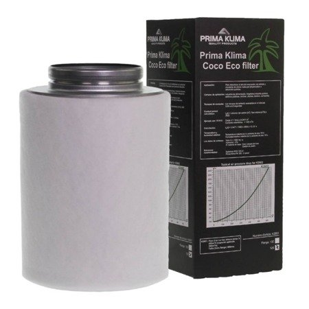 "Carbon filter ""Prima Klima, ECO"" 360m3/h - 125mm"