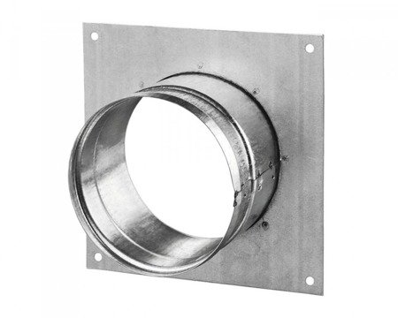 Wall flange square Ø100mm