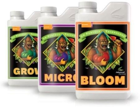 pH Perfect Grow / Micro / Bloom 1L Kit