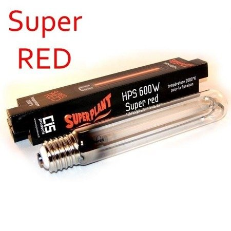 Superplant Flower Spectrum 600w HPS Super RED