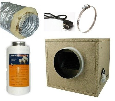 Ventilation Kit Professional - 1500m3