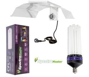 Spectromaster 300W, dual spectrum med CFL reflector