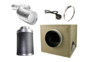 Ventilation Kit Professional - 1000m3/h