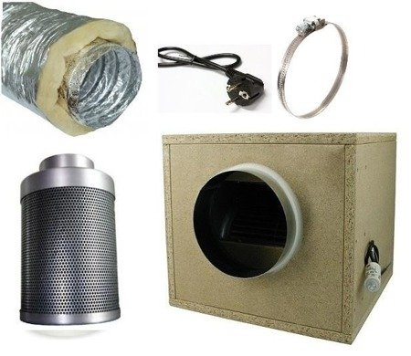 Ventilation Kit  Professional - 250m3/h